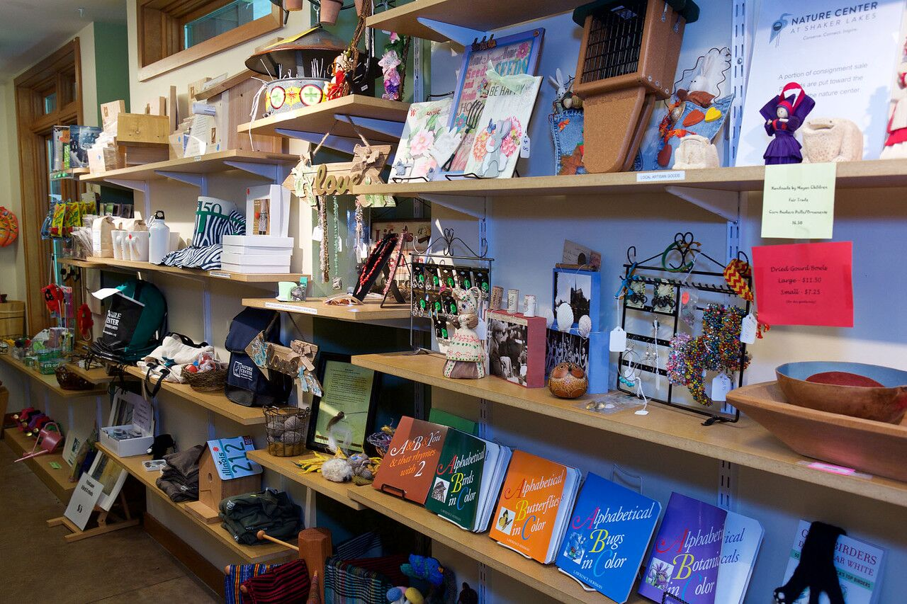 Shop The Duck Pond Gift Shop Nature Center At Shaker Lakes