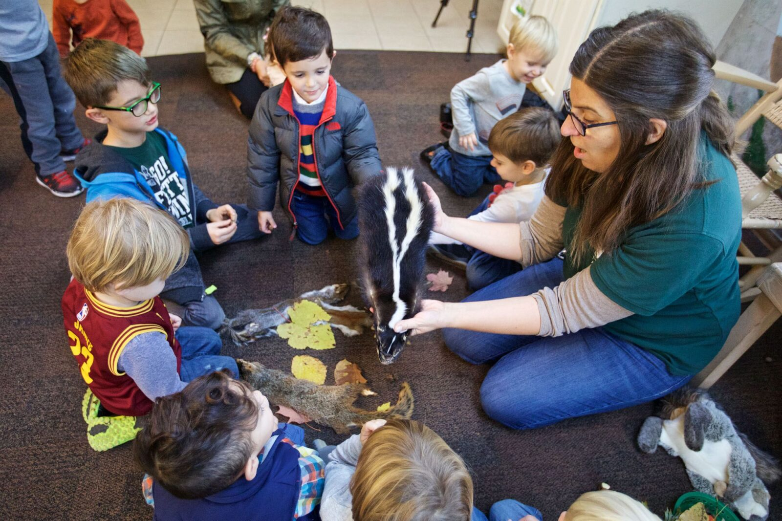 nature story time shaker lakes