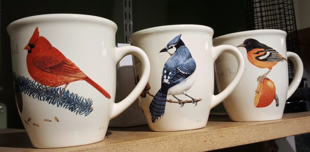 Wild Birds Unlimited coffee mugs
